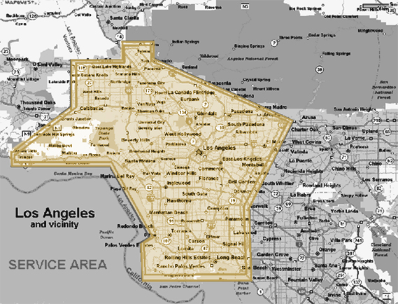 Infinity Aquarium Design Los Angeles Service Area